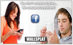 WallSplat – Story Telling Tool